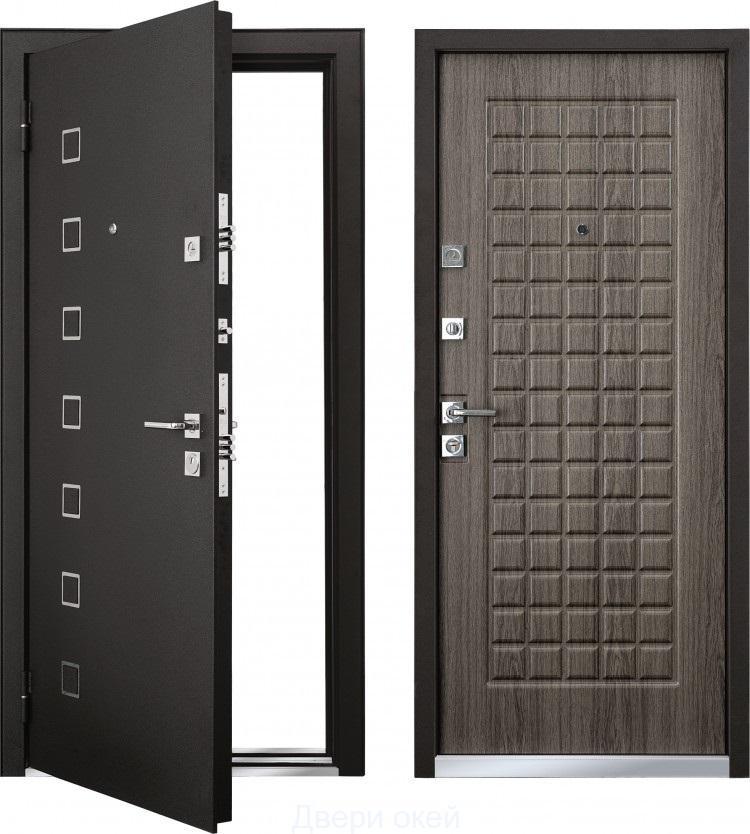 стальные двери с двумя металлическими листами