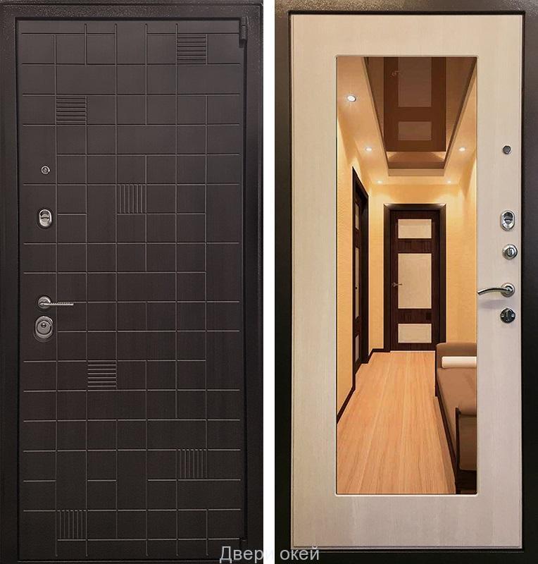 металлические двери усиленные технические