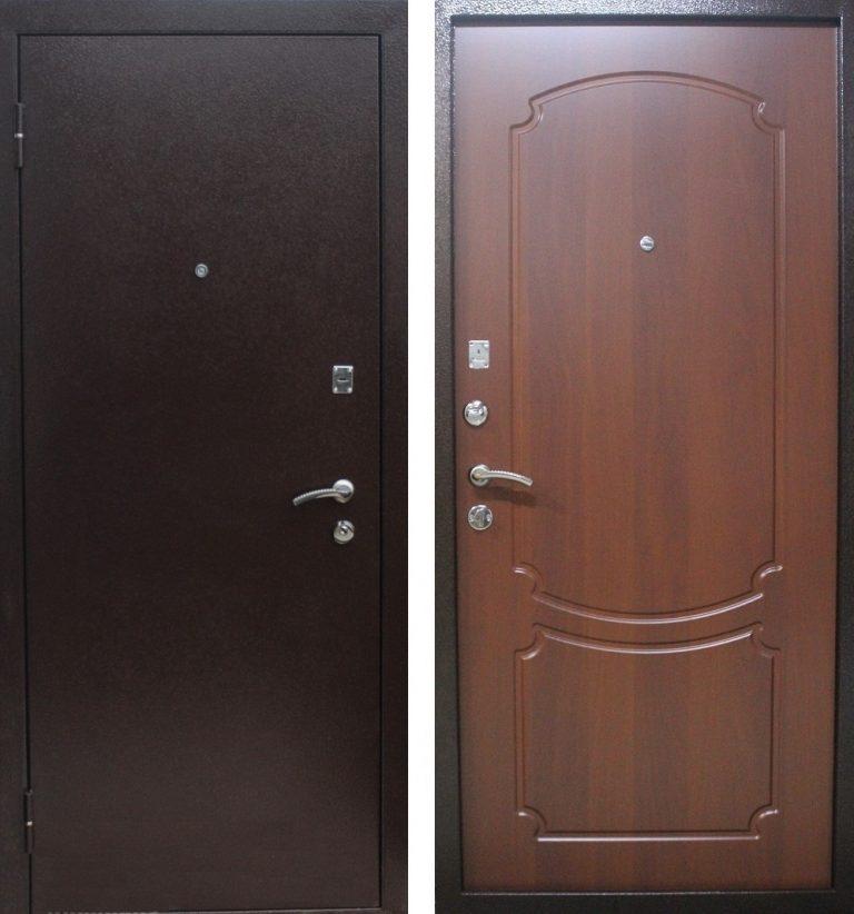 железная дверь входная лист 3 мм