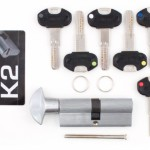 Перекодируемый цилиндр Securemme К2 ключ/вертушка