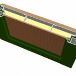 Трёхконтурная конструкция двери