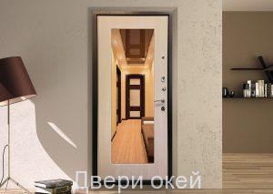Вид двери изнутри Евростандарт 28