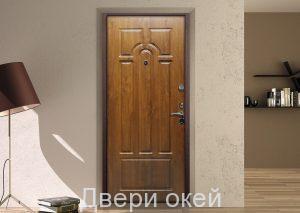 Вид двери изнутри