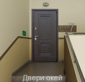 Вид двери снаружи